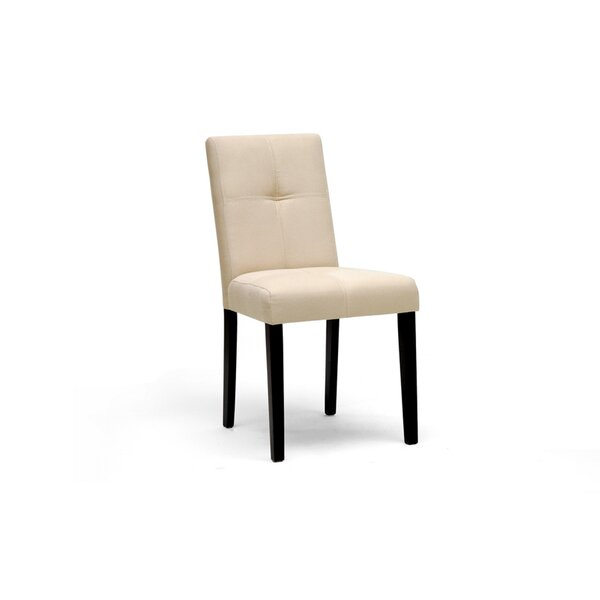 Farview Upholstered Dining Chair (Set of 2) by Alcott Hill