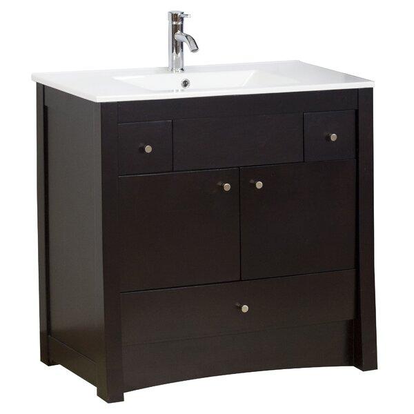 36 Single Transitional Bathroom Vanity Set by American Imaginations