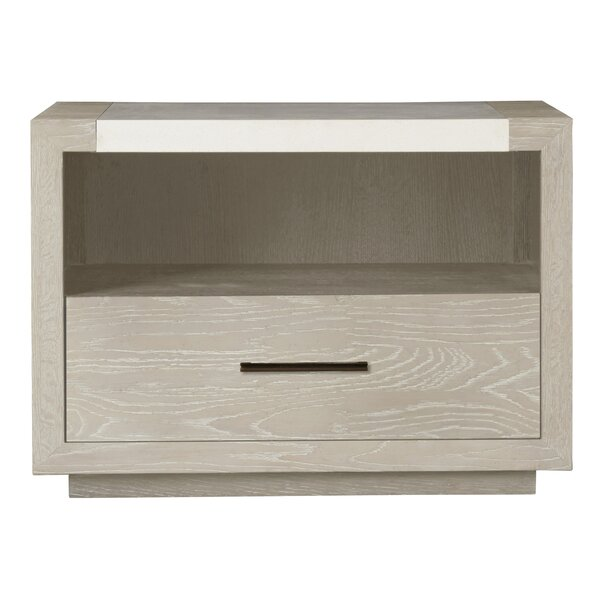 Chavira 1 Drawer Nightstand by Brayden Studio