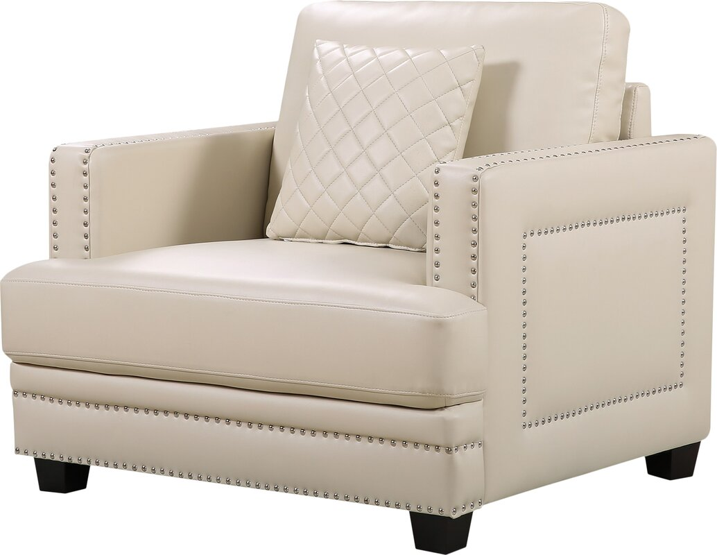 Dia Nailhead Club Chair By Willa Arlo Interiors Buy