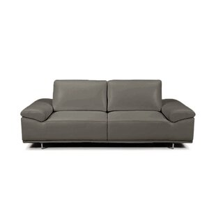Best Roxanne Leather Reclining Sofa By Bellini Modern Living Chairs