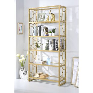 Borum Etagere Bookcase Everly Quinn
