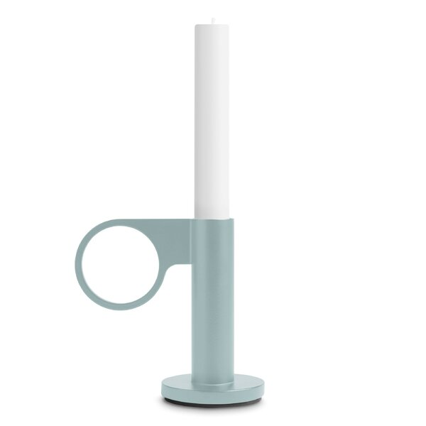 Who Goes There Metal Candlestick by Blu Dot