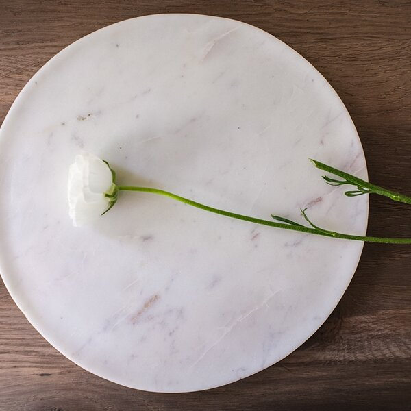 Marble Round Trivet by Couleur Nature
