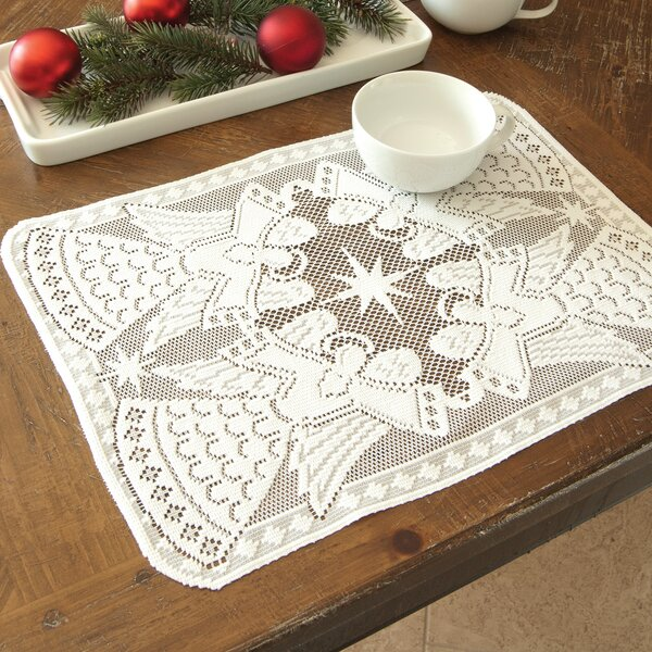 Glorious Angel Placemat (Set of 4) by Heritage Lace