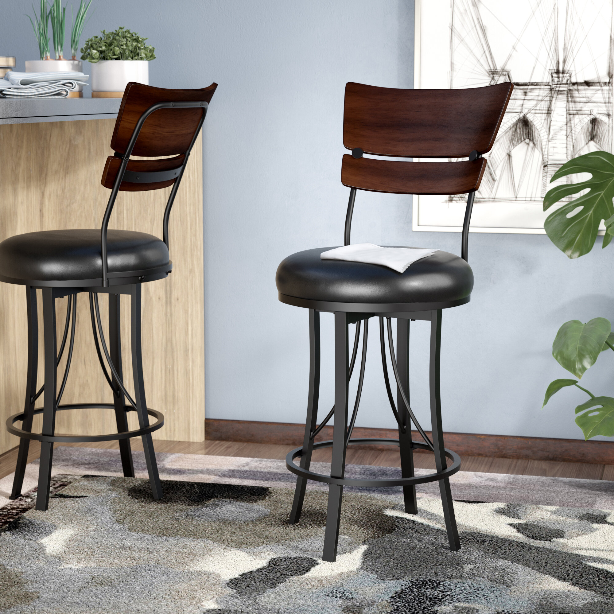 Peachy Chatham Bar Counter Swivel Stool Ibusinesslaw Wood Chair Design Ideas Ibusinesslaworg