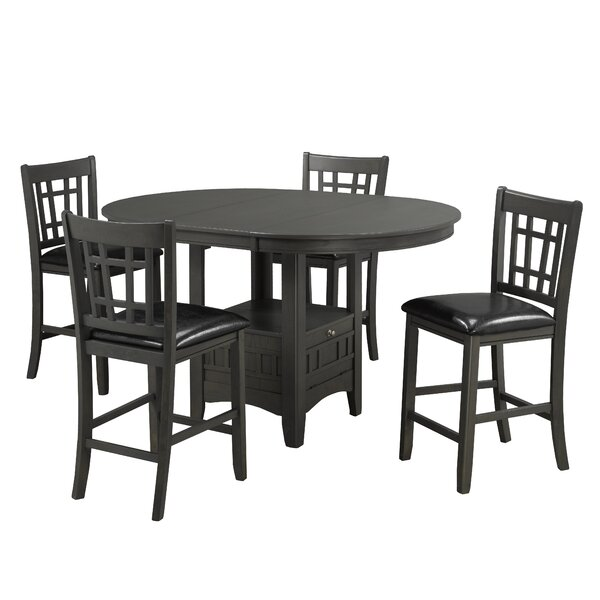 Gerold 5 Piece Pub Table Set by Red Barrel Studio