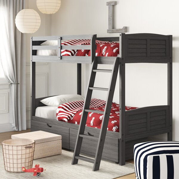 Bellin Bunk Bed with Drawers by Birch Lane™ Heritage