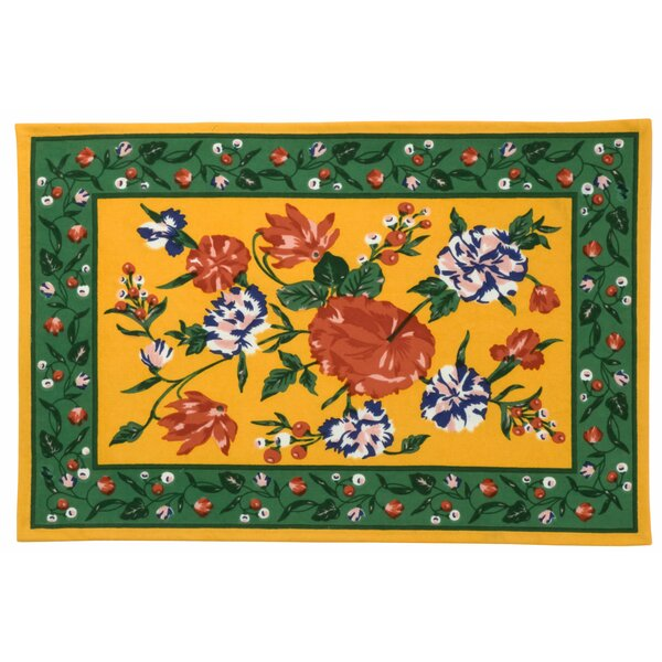 Carnation Placemat (Set of 6) by Traders and Company