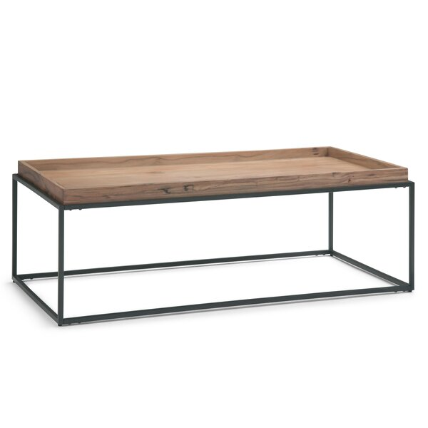 Spruill Coffee Table with Tray Top by Trent Austin Design