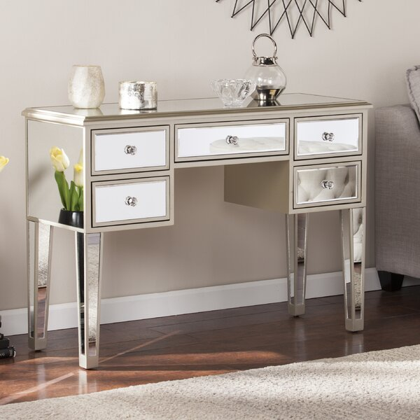 Wilmer Mirrored Console Table by Wildon Home ®