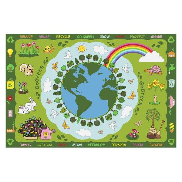 Fun Time Go Green Kids Rug by Fun Rugs