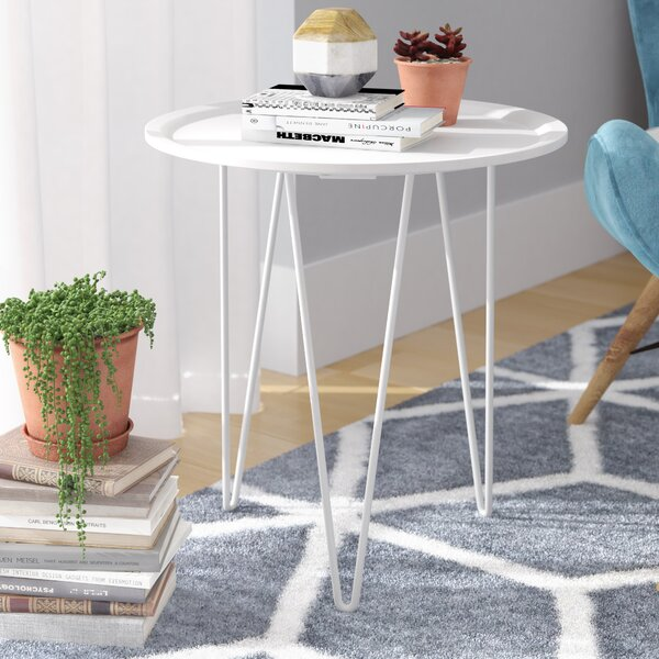 Batz End Table by Wrought Studio