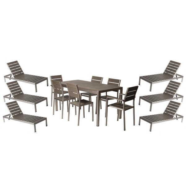 Carrell 13 Piece Conversation Set by Orren Ellis