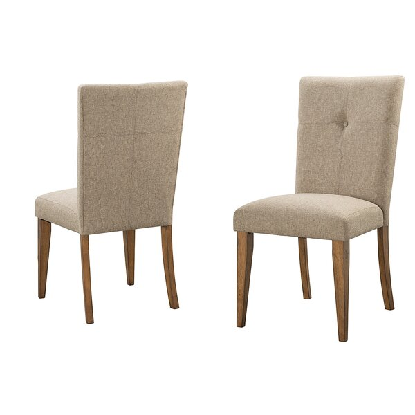 Terwilliger Upholstered Dining Chair (Set of 2) by Union Rustic