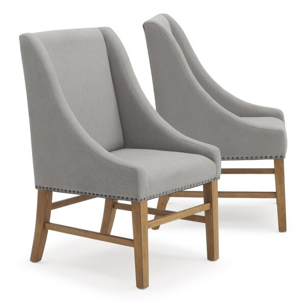 Silas Upholstered Dining Chair (Set of 2) by One Allium Way