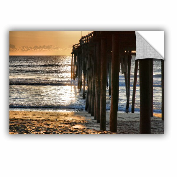 ArtApeelz Fishing Pier by Steve Ainsworth Photographic Print on Canvas by ArtWall