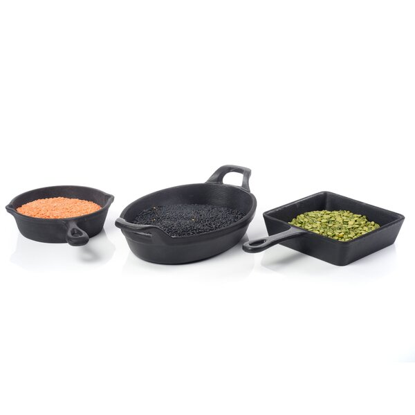 Forge Oval Cast Iron Casserole Dish by IMPULSE!