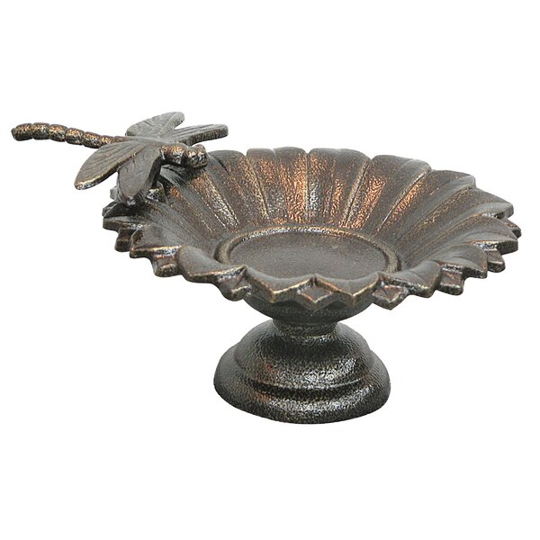 Dragonfly Tabletop Birdbath by Innova Hearth and Home