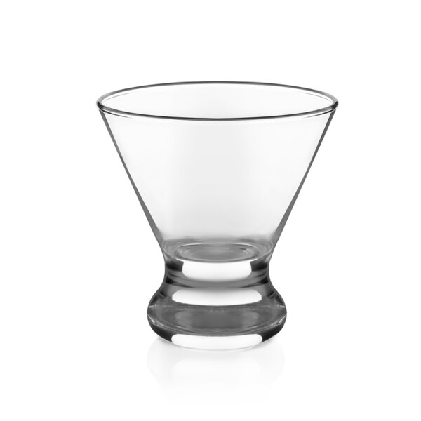 Cosmopolitan 8.25 oz. Martini Glass (Set of 4) by