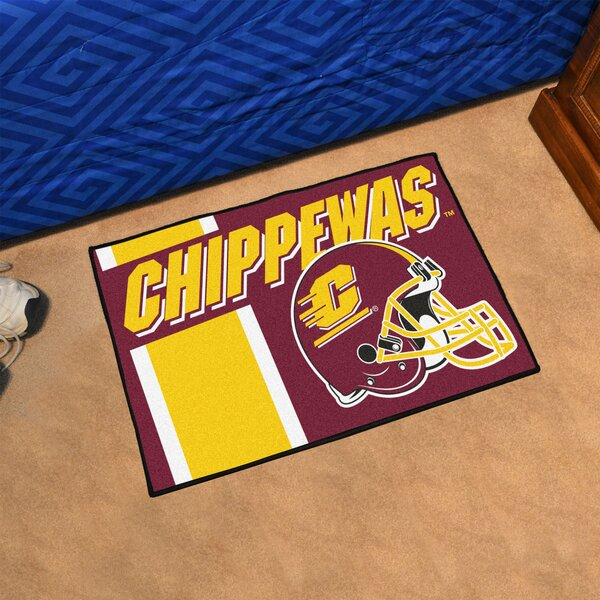 Central Michigan University Doormat by FANMATS