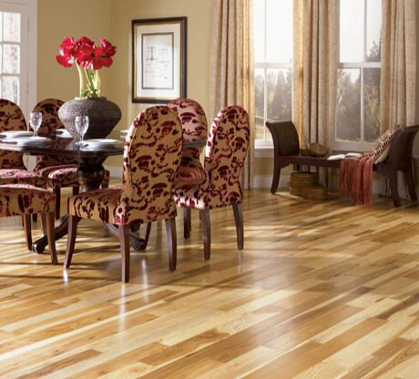 Character  5 Solid Hickory Hardwood Flooring In Natural by Somerset Floors