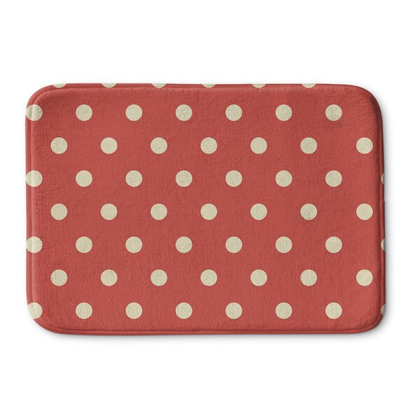 Dots Memory Foam Bath Rug