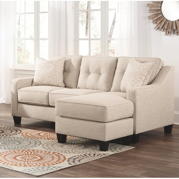 Find Out The Latest Rodborough Reversible Sectional by Winston Porter by Winston Porter