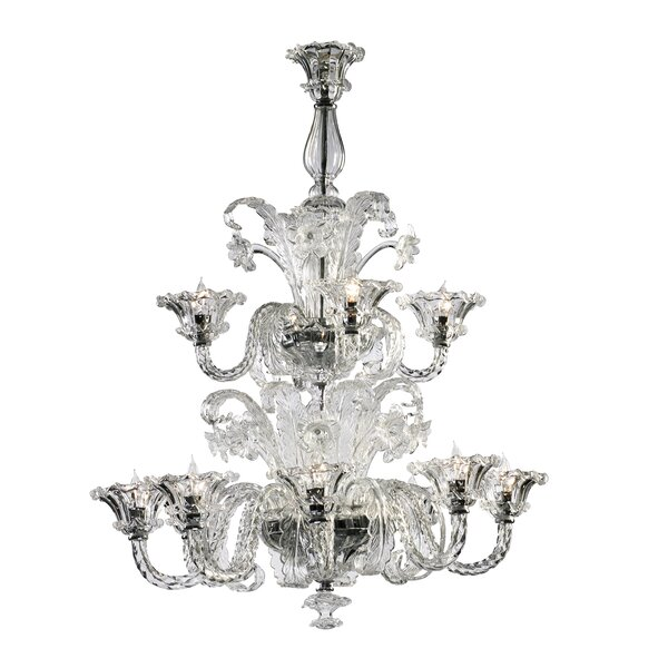 La Scala 12 - Light Candle Style Classic / Traditional Chandelier by Cyan Design Cyan Design