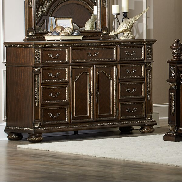 Pettiford 9 Drawer Dresser by Astoria Grand