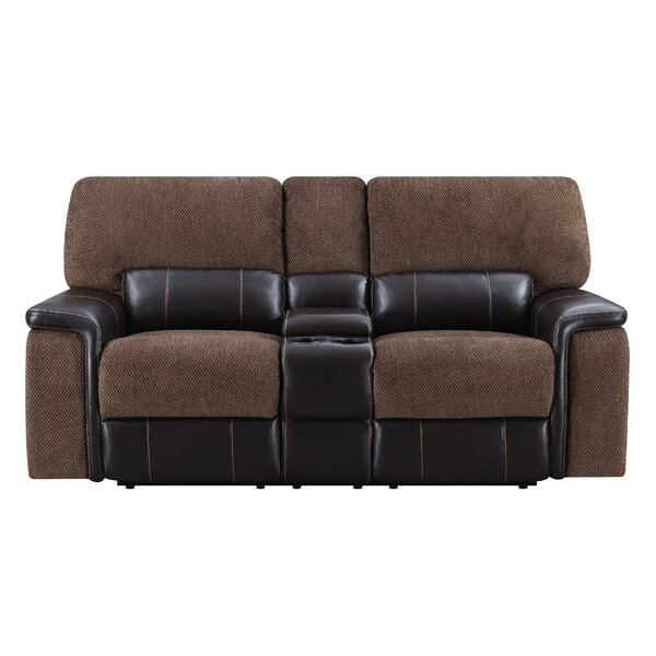 For The Latest In Dail Reclining Loveseat by Red Barrel Studio by Red Barrel Studio