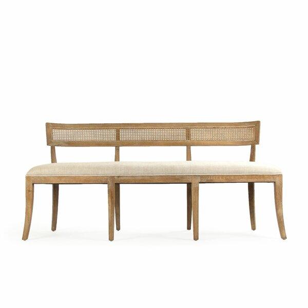Embla Cane Back Bench by One Allium Way One Allium Way