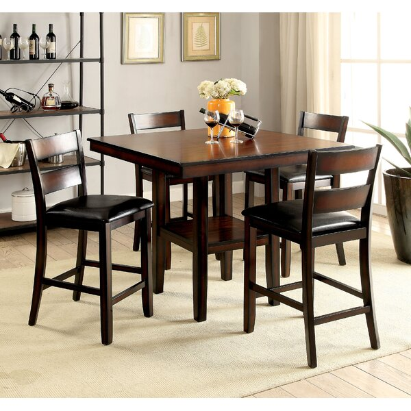 Daphne 5 Piece Counter Height Dining Set