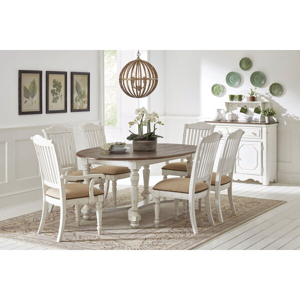 Mildred 7 Piece Dining Table Set by Rosalind Wheeler Rosalind Wheeler