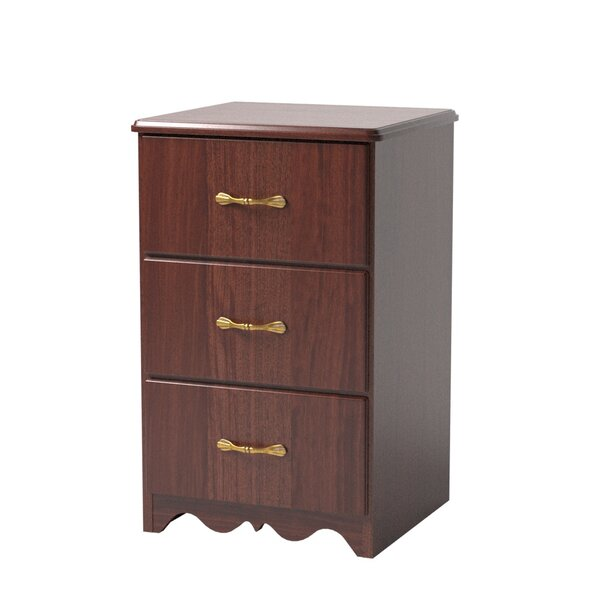 Williamsburg 3 Drawer Nightstand by Maxwell Thomas