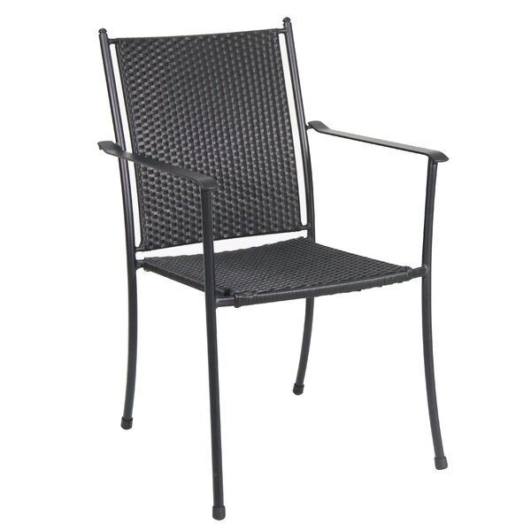Compo Stacking Patio Dining Chair (Set of 4) by Royal Garden