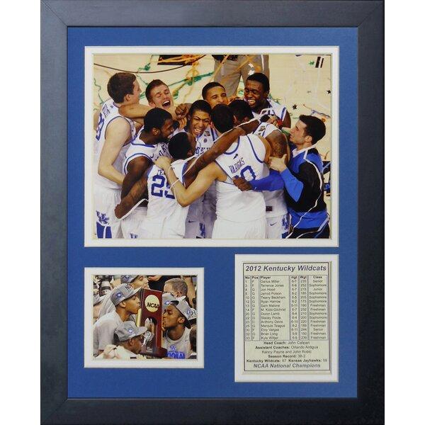 2012 Kentucky Wildcats Champions - Celebration Framed Memorabilia by Legends Never Die