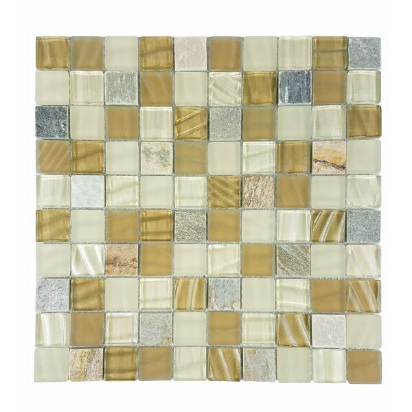 New Era II 1.25 x 1.25 Glass Mosaic Tile in California by Abolos