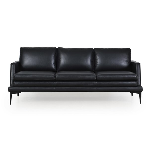 Arteaga Leather Sofa by Brayden Studio