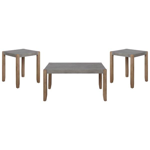 Aston 3 Piece Coffee Table Set by Loon Peak Loon Peak®