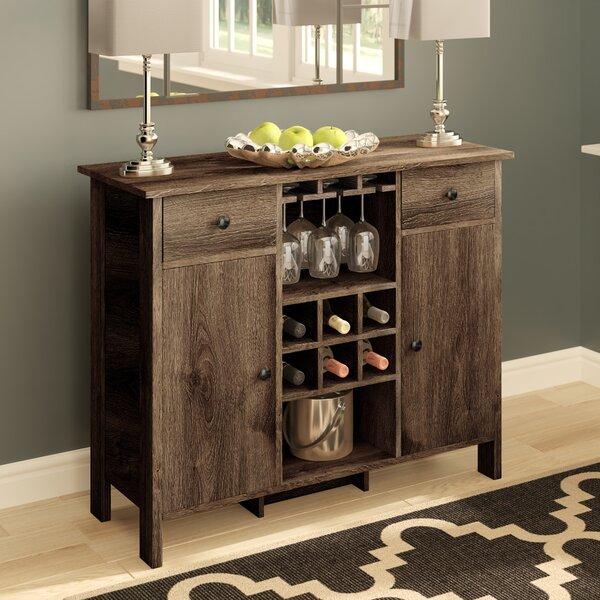 Pitzer Bar With Wine Storage By Canora Grey