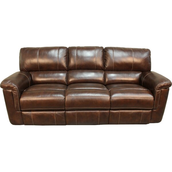 Blair Dual Leather Power Reclining Sofa by Red Barrel Studio