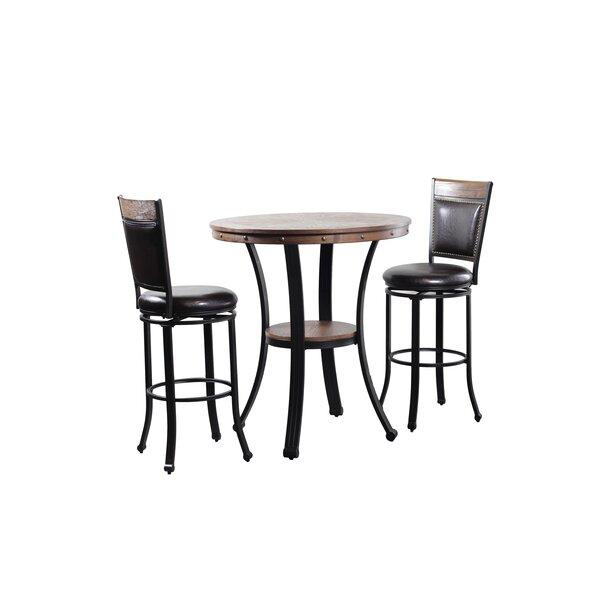 Alena 3 Piece Pub Table Set