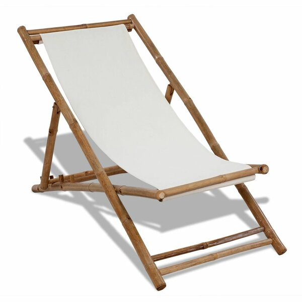 Teignmouth Reclining Deck Chair by East Urban Home East Urban Home