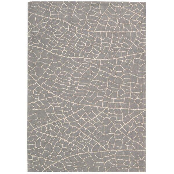 Imhoff Hand-Tufted Granite Area Rug by Brayden Studio