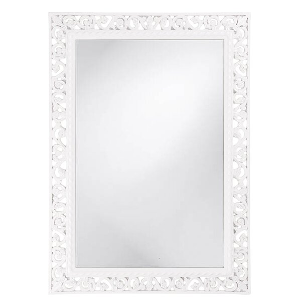 Rectangle Resin Wall Mirror by Darby Home Co