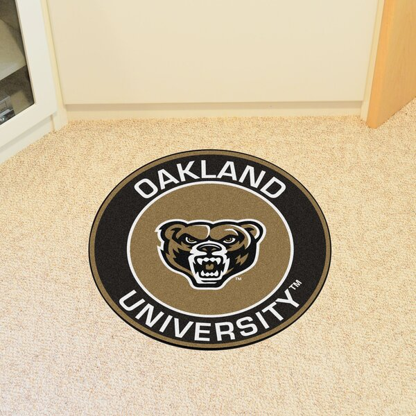 Oakland University Doormat by FANMATS
