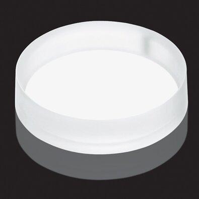 Luminist Lighted Circular Vessel Bathroom Sink