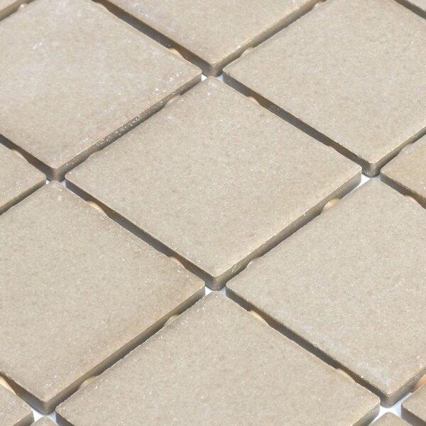 Dalton 12 x 24 Porcelain Mosaic Tile in Elemental Tan by Itona Tile