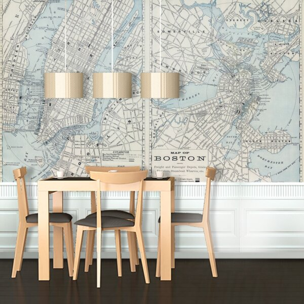 Boston Wall Mural by Swag Paper